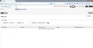 Autodesk Vault Webbrowser ekranı (Item)