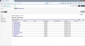 Autodesk Web browser Dosyalar