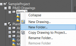 Autocad Plant 3d Create Folder komut
