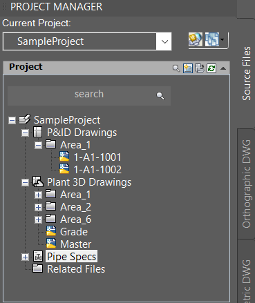 Autocad Plant 3d Folder Organizasyonu